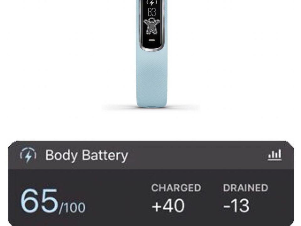 Body Battery در ساعت گارمین