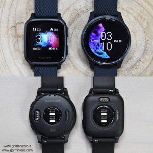 تفاوت ساعت گارمین venu و venu_sq