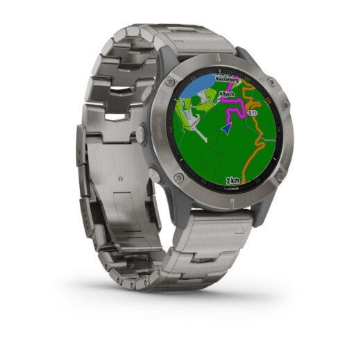 ساعت گارمین Fenix 6 pro sapphire